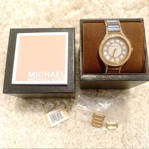 Gorgeous Gold Tone Michaels Kors Watch